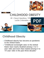 childhood obesity 1 ppt presentation