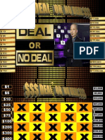 Unit 7 (Light) Lessons 1- 6 Review Deal or No Deal