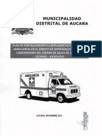 Plan Ambulancia Aucara