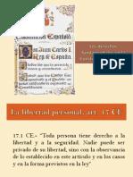 Sesion Sobre Libertad Personal Art 17 CE Tema 5