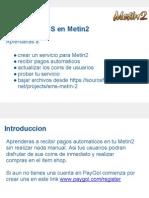 Acepta pagos automaticos SMS en Metin 2