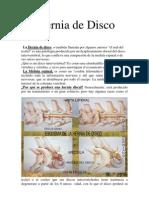 Hernia de Disco