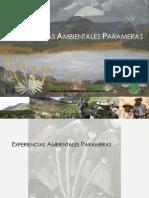 PPA. 2012. Experiencia Ambientales Parameras