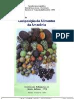 Composicao de Alimentos Da Amazonia