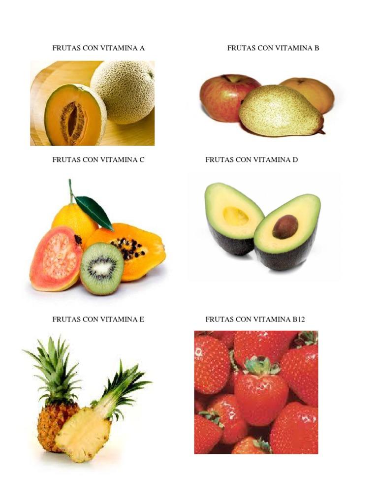 que fruta tiene vitamina b12