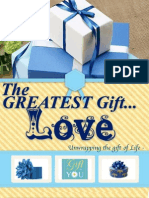 Greatest Gift Love Newsletter