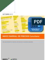 Indice Barial de Precios Octubre de 2012 60