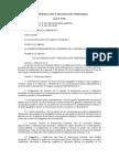 LEY 27795 DE DEMARCACIÓN Y ORGANIZACIÓN TERRITORIAL