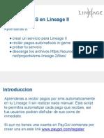 Acepta pagos moviles en Lineage 2