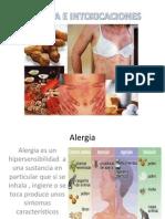 Alergia e Intoxicaciones