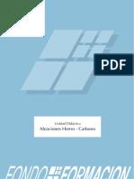 Aleaciones Fe_c. Diagrama Fe_c. Constituyentes de Los Aceros