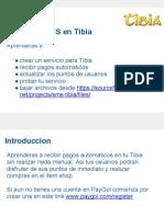 Aceptando pagos moviles en Tibia usando SMS