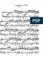 9 Etudes Tableaux Op 39