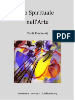 Lo Spirituale Nell'Arte di Vasilij Kandinskij