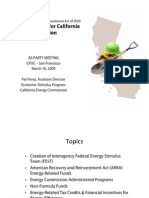 Energy Funding for California Energy Commission