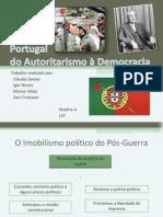 Estado Novo - do autoritarismo à democracia