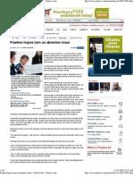 Politico.com features Dartmouth College professors' study of the senate race and Al Franken, 11/24/08