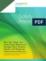 Reading-Safety Innovations at Beth Israel 2013