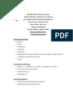 Asignación Trabajo Unidad II (Refinación)