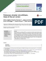 Pulmonary Alveolar Microlithiasis