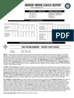 04.29.13 Mariners Minor League Report
