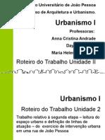 Urbanismo I Unidade II