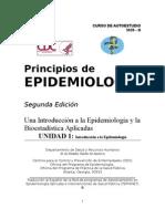 Principios de Epidemiologia. CDC. USA