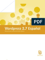 Uso básico Wordpress 2.7
