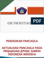 Aktualisasi Pancasila Slide