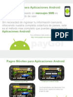 Comienza a recibir pagos moviles en cualquier aplicacion android!