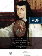 Sor Juana Inés de la Cruz 2013