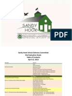 Sandy Hook School Site Evaluation Study