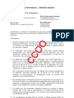 Jubilacion Parcial-contrato Relevo