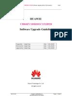 HUAWEI U8860IV100R001C1B928 Software Upgrade Guideline