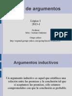 2. Tipos de Argumentos