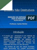 Ensaios N+úo Destrutivos - ME - Power Point 2