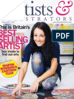 Artists and Illustrators Magazine Kerry Darli