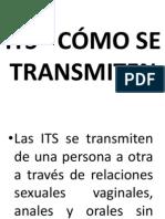 ITS - Cómo se transmiten