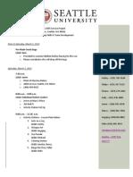artifact f agenda learning plan