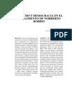 Derecho y Democracia en El Pensamiento de Norberto Bobbio 0