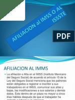 Afiliacion Al Imss o Al Issste