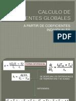 Calculo de Coeficientes Globales