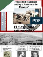 LA RECONSTRUCCIÓN NACIONAL Y LA REPÚBLICA  ARISTOCRÁTICA.ppsx