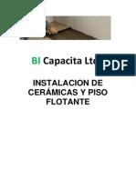 MANUAL INSTALACION DE CERÁMICA Y PISO FLOTANTE