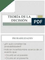 Decision (II Teoria de Decisiones)