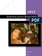Prova Do Word 2007