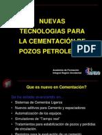 Tecnologías  Cementación de Pozos Petroleros