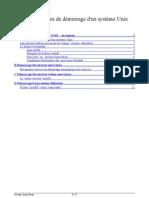 Administration Unix Demarrage Systeme Et Services