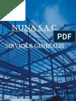 Nuna SAC - Servicios Generales