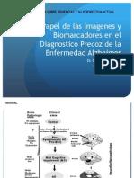Papel Imagenes y Biomarcadores en Dx Precoz Alzheimer